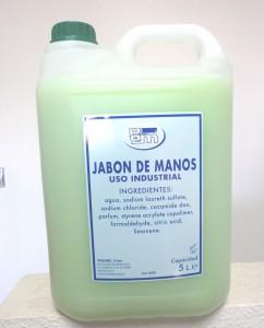 Jabón de manos aloe vera